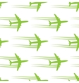 Seamless background with aircrafts vector image vector image