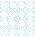 square rosettes seamless pattern vector image