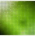 Green mosaic Summer theme template vector image