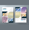 annual report brochure flyer book cover templates vector image vector image