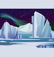 arctic night landscape