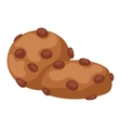 Cookie biscuit isolated vector image vector image