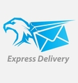 Express fast delivery icon vector image