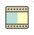 film production technology icon design 48x48 vector image