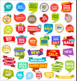 modern sale stickers tags banners and badges vector image vector image