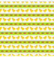 seamless pattern with bachick vector image vector image