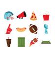 bundle american football sport icons