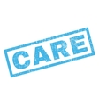 Care Rubber Stamp vector image vector image