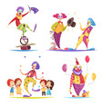 clowns design concept vector image