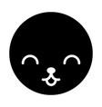 cute kawaii pet vector image vector image