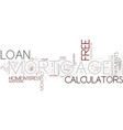 five ways to benefit from free mortgage loan vector image vector image