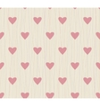 seamless background with lines AND HEARTS vector image vector image