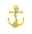 Ship Anchor Icon vector image