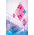 Abstract Diamonds vector image vector image