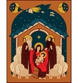 Adoration of the Magi vector image vector image