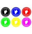 burundi rubber stamp vector image vector image