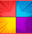 comic explosive colorful concept vector image
