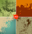 grunge textures colorful background collections vector image