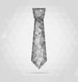 necktie geometric vector image vector image