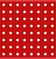 polka dot seamless retro pattern vector image vector image