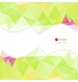 Abstract template for modern design vector image vector image