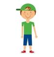 boy avatar isolated icon design vector image