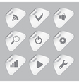 Editor tools icon set vector image vector image