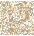 Floral seamless pattern romantic vector image vector image
