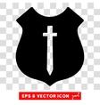 Guard Shield Eps Icon vector image