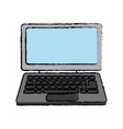 laptop computer device technology wireless vector image vector image