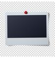 Polaroid frame Single vector image vector image
