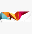 science background abstract triangle pattern vector image