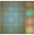 Seamless geometric background wall paper vector image