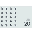 Set of formats icons vector image