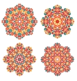 Mandalas in oriental style Ethnic patterns vector image