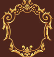Golden Royal Ornament vector image vector image