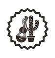 mexican culture design vector image vector image