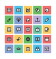 SEO and Marketing Icons 6 vector image vector image