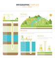 energy infographic vector image
