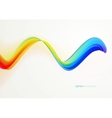 Abstract creative colorful lines and shape vector image