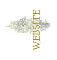 five ways to quadruple a websites revenue text vector image vector image