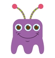 monster cartoon isolated icon design vector image