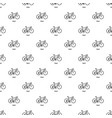 road bike icon simple style vector image vector image