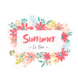 summer sale template vector image