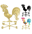 weather vane vector image