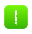 drawing brush icon digital green vector image
