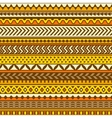 Ethnic pattern seamless background vector image vector image