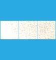 gold polka dot confetti celebrations simple vector image vector image
