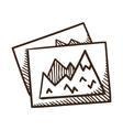 Image files symbol vector image