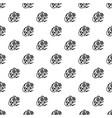 virus bacteria pattern seamless vector image
